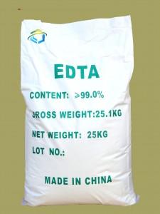 エチレンジアミン四酢酸 (EDTA)